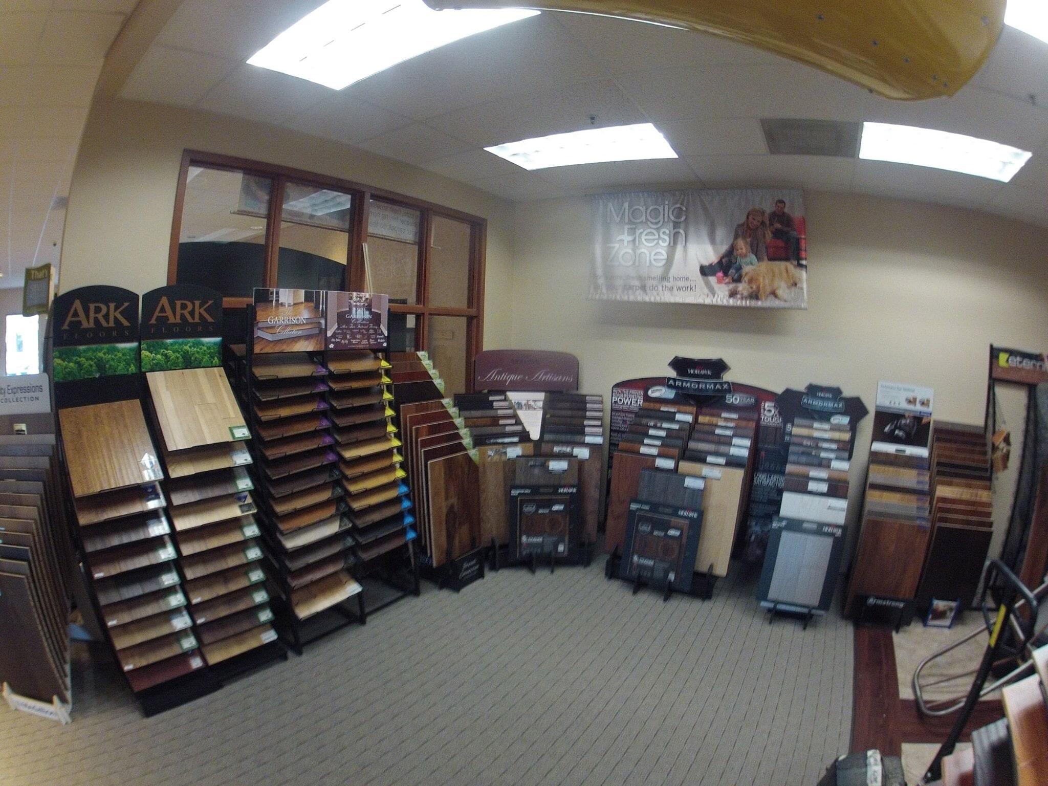 Floor showroom in Elk Grove CA from Marsh's Carpet