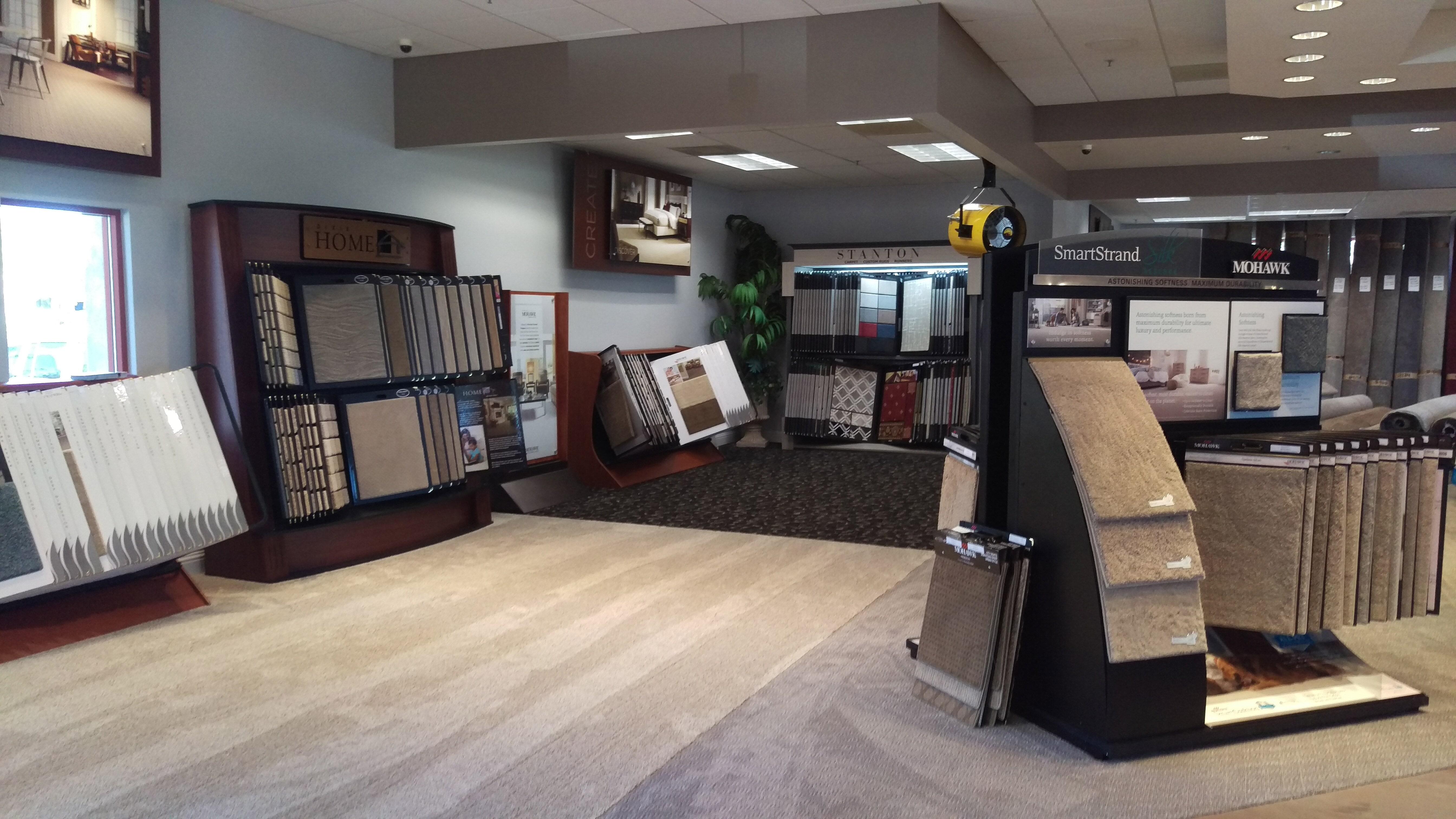 Flooring showroom in Sacramento CA from Marsh's Carpet