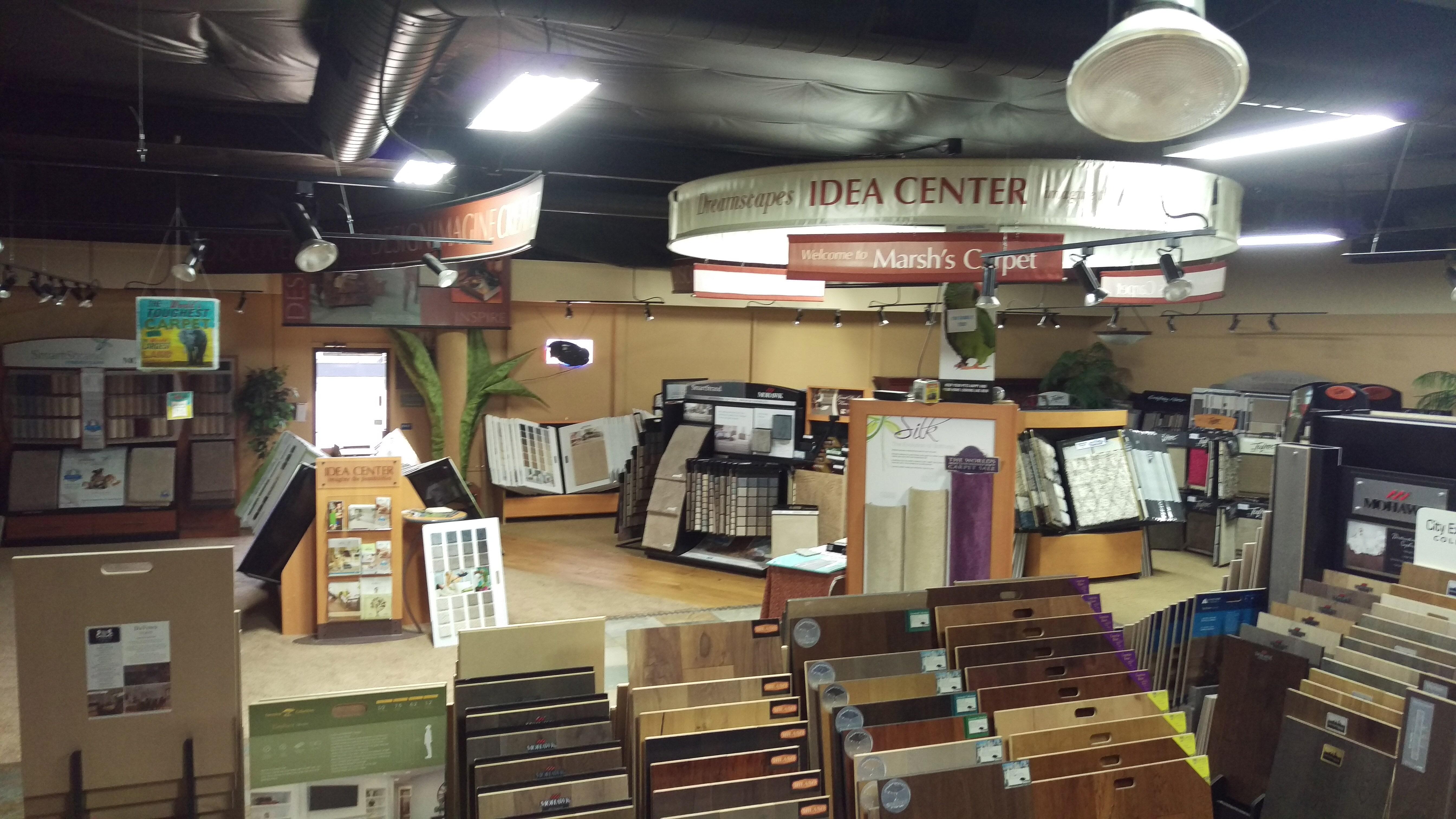Flooring showroom in Citrus Heights CA from Marsh's Carpet