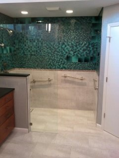 Bathroom tile in St. Petersburg FL from Relo Interior Services