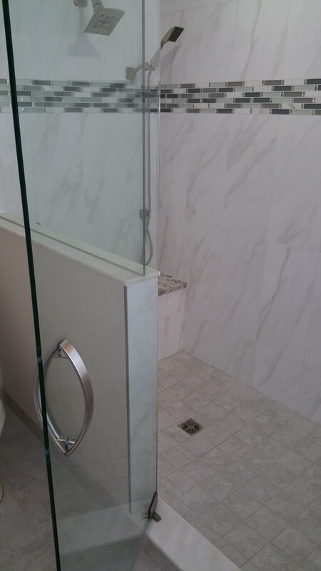 Bathroom tiles in Tampa FL from Relo Interior Services