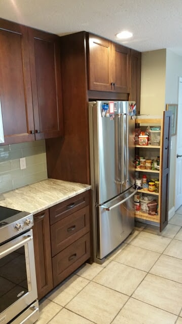 Kitchen remodel in South Tampa FL from Relo Interior Services