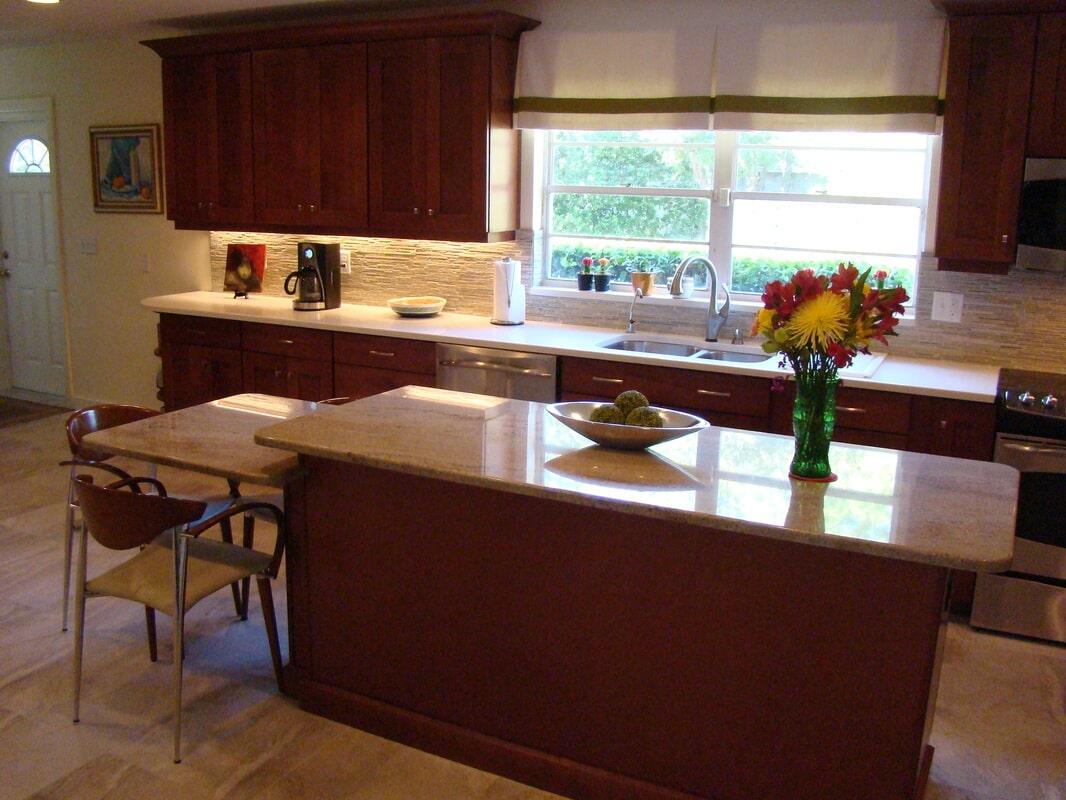 Kitchen flooring in St. Petersburg FL from Relo Interior Services