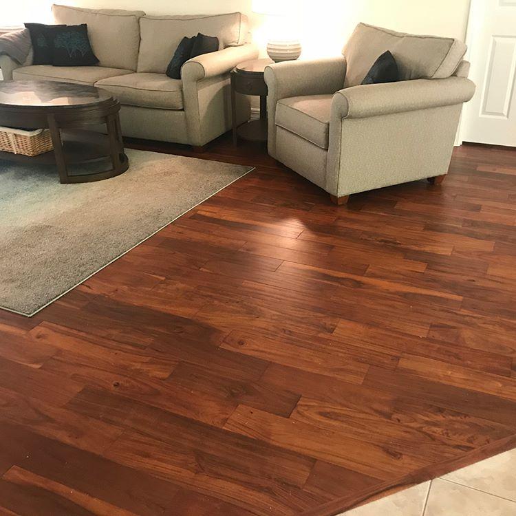 New hardwood floors in Longwood, FL from The Flooring Center