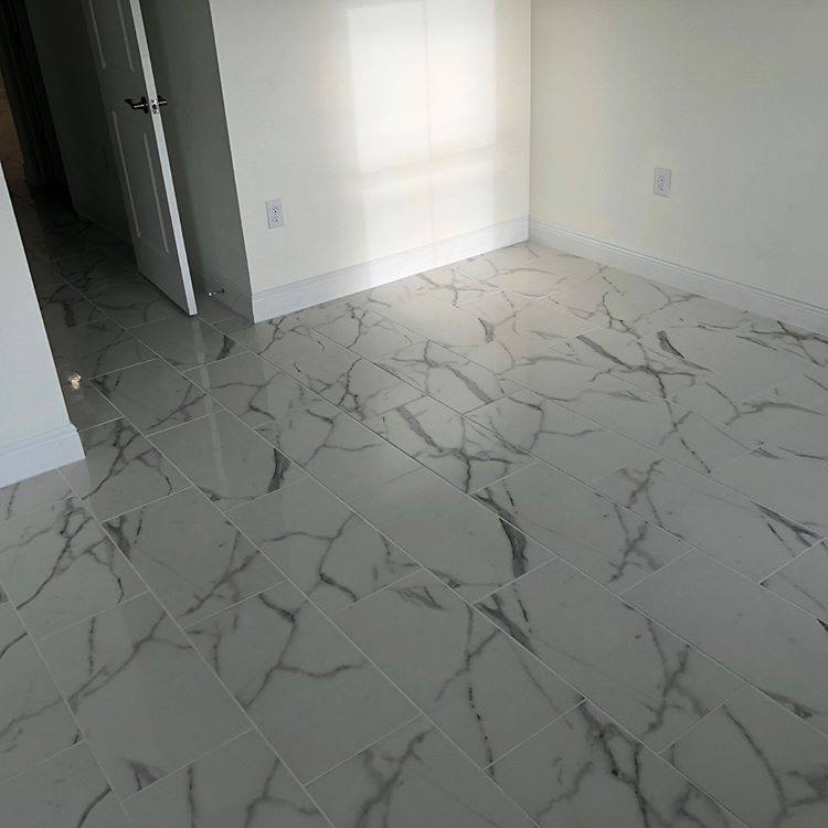 Marble tile from The Flooring Center in Dr. Phillips, FL