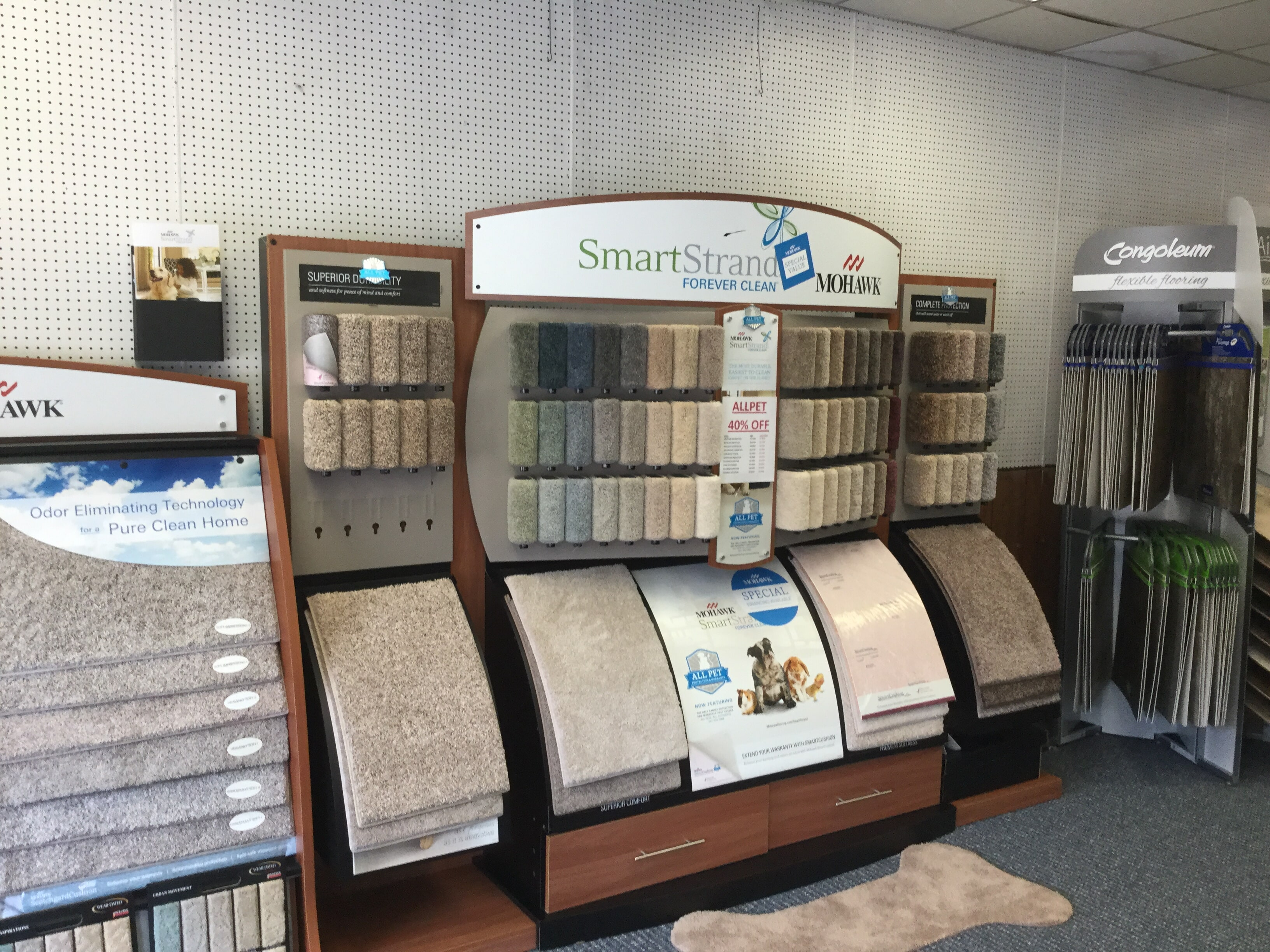 Carpet store near North Myrtle Beach,  SC - WF Cox Company