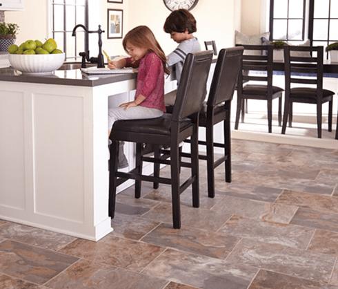 Kid friendly tile in Frankenmuth MI from Worden Interiors