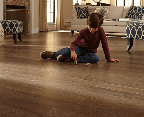 Luxury hardwood floors in Georgetown KY from Oser Paint & Flooring