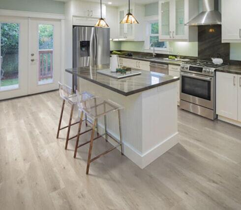 Luxury vinyl plank floors in Georgetown KY from Oser Paint & Flooring