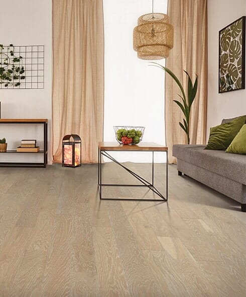 Modern hardwood floors in Marion IL from L & P Carpet