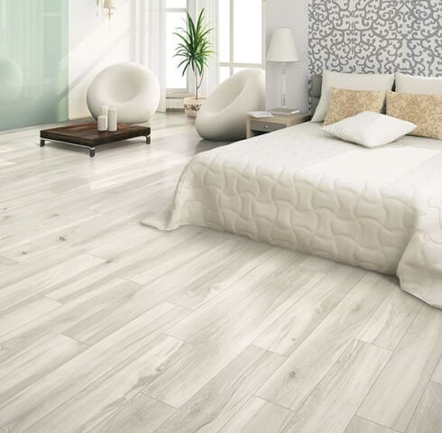 Wood look tile floors in Shelburne VT from Elegant Floors