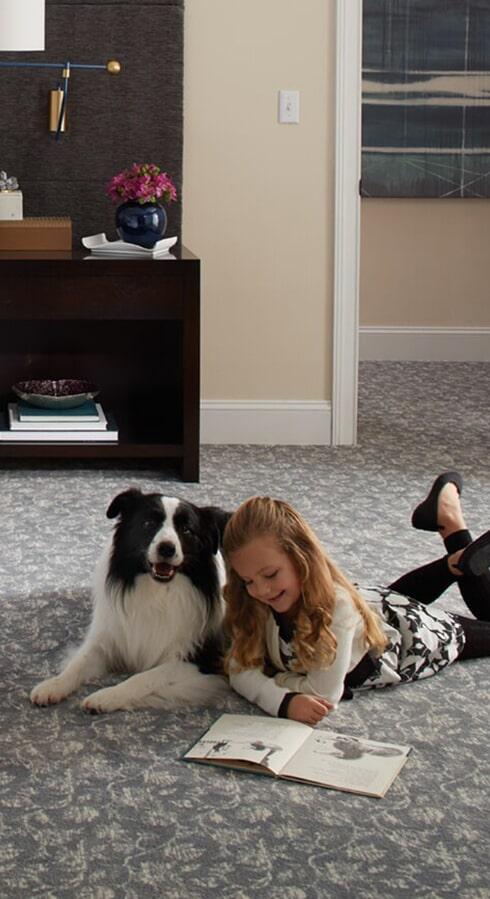 Family friendly carpet in Lexington, TN from Feel Good Floors