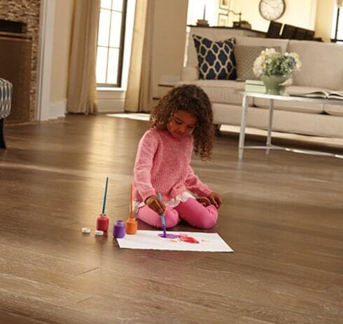 Hardwood flooring in Lexington, TN from Feel Good Floors