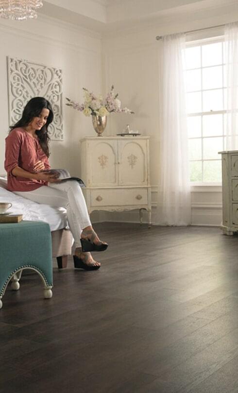 Luxury vinyl planks in Lexington, TN from Feel Good Floors