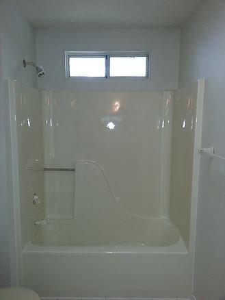After Tub Surround Refinishing