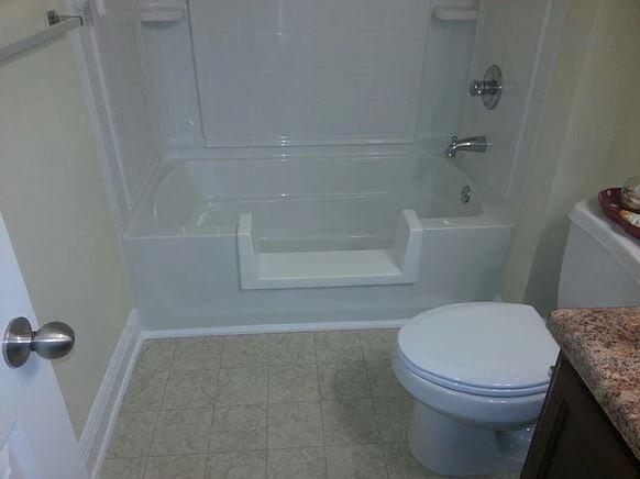 Walk-Thru Shower