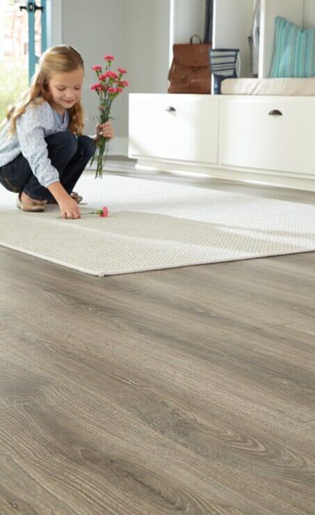 Low maintenance luxury vinyl flooring in Lawrenceville, GA from P&Q Flooring