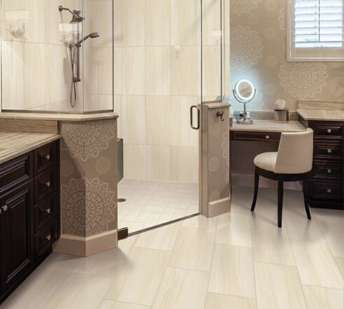 Ceramic tile flooring in Monroe, NC and Rock Hill, SC from Outlook Flooring