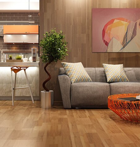 Hardwood flooring installation in Douglasville, PA by About All Floors
