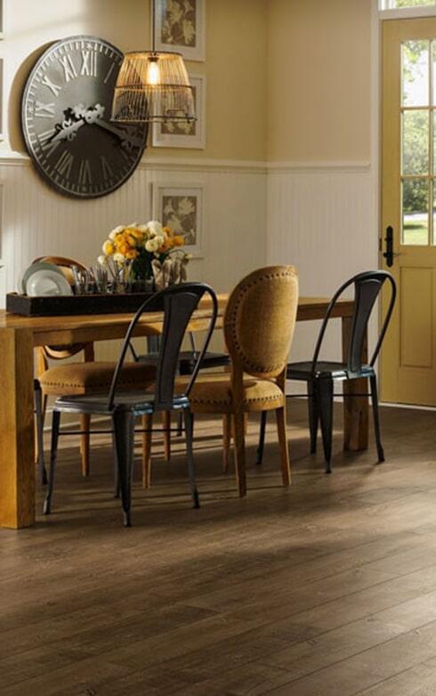 Laminate flooring from Strait Floors in