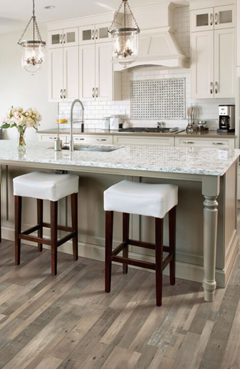 Laminate floor installation in Soquel, CA from Interior Vision Flooring & Design