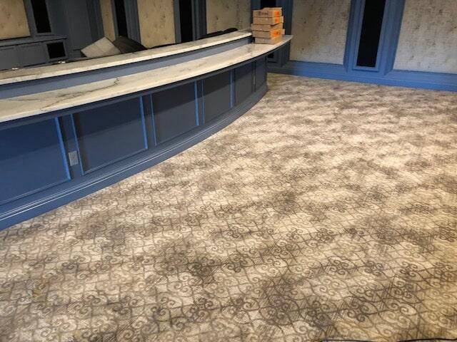 Theater Room remodel near Eufaula, AL by Carpetland USA
