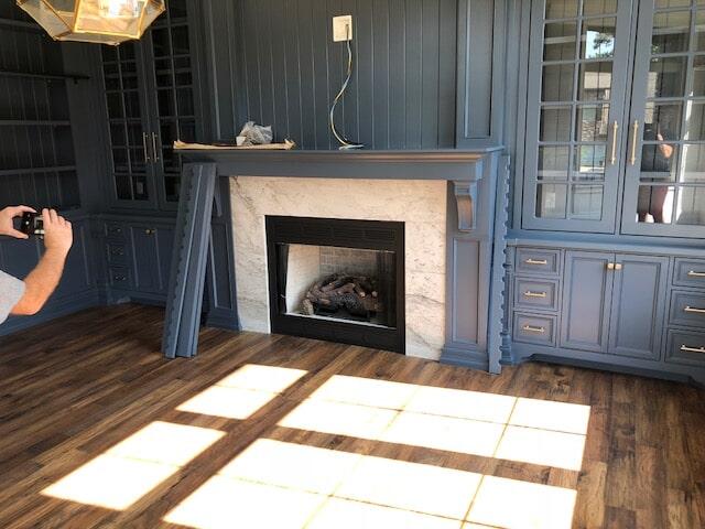 Study/Office remodel near Dothan, AL by Carpetland USA