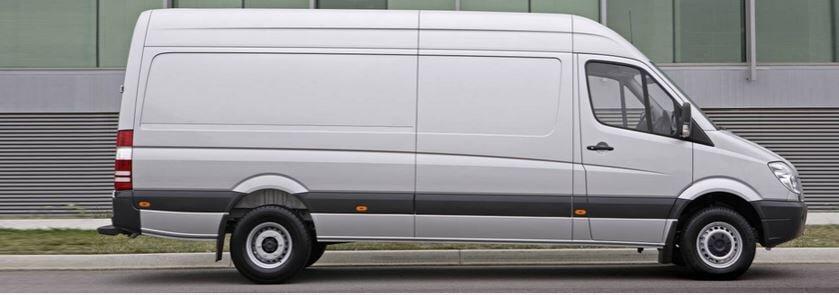repaired van