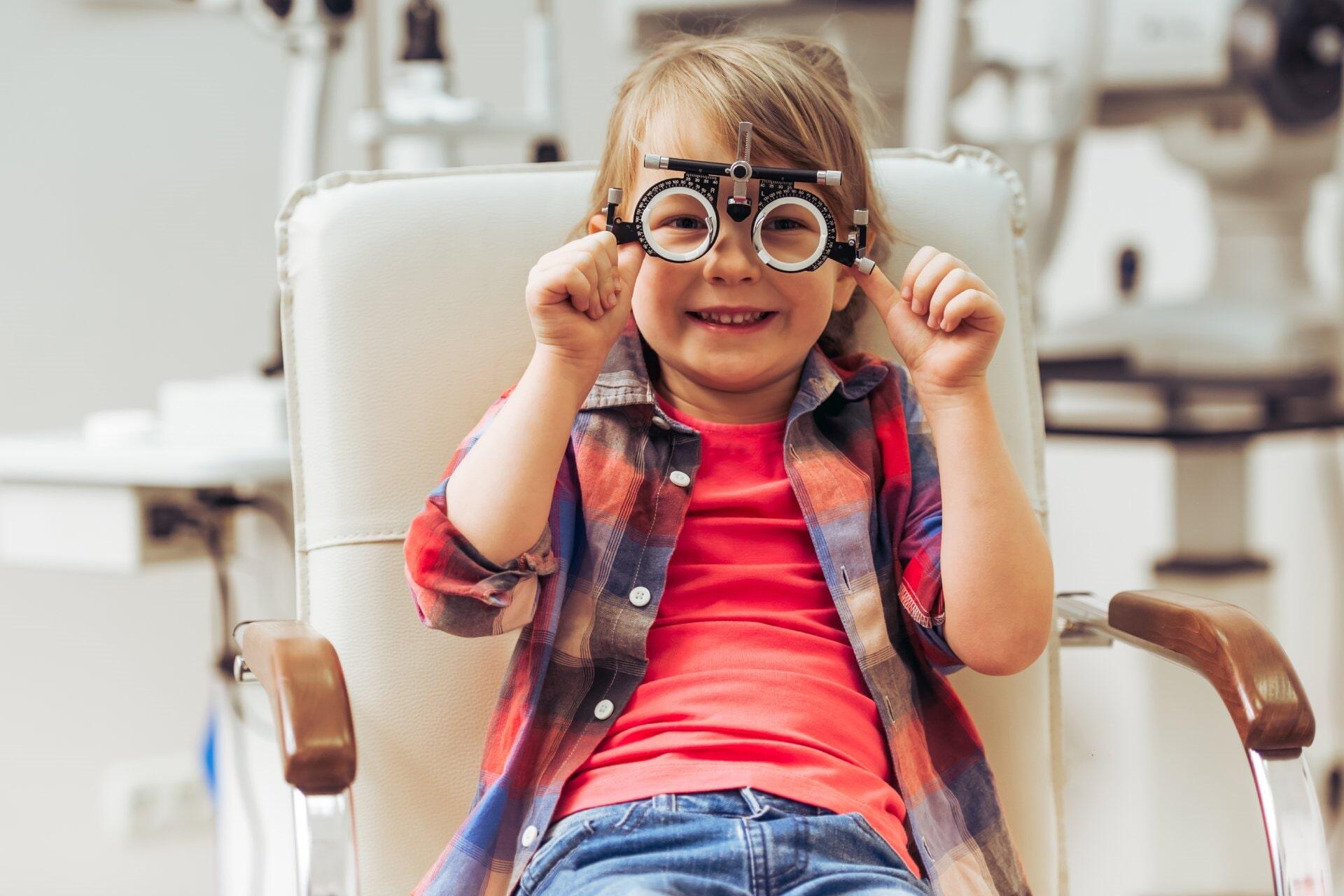 children eye test