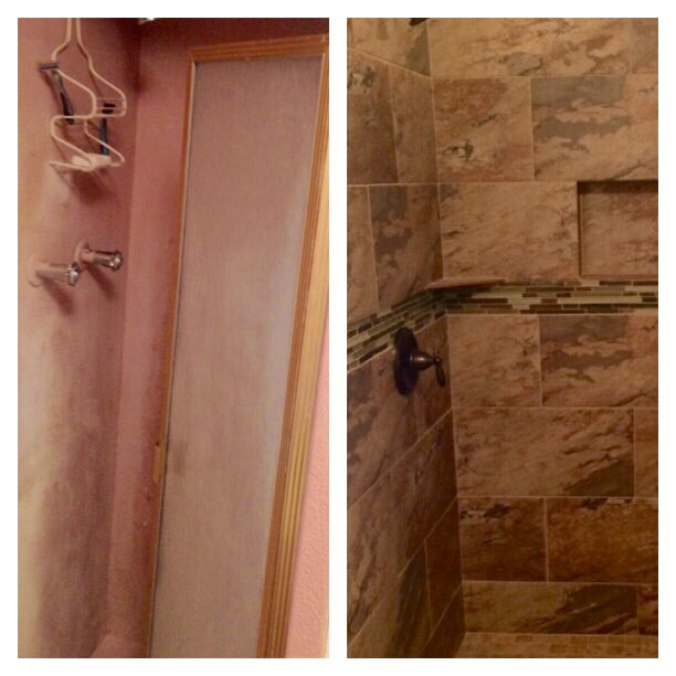 Before & after photos in Ascension Parish, LA from Marchand's Interior & Hardware