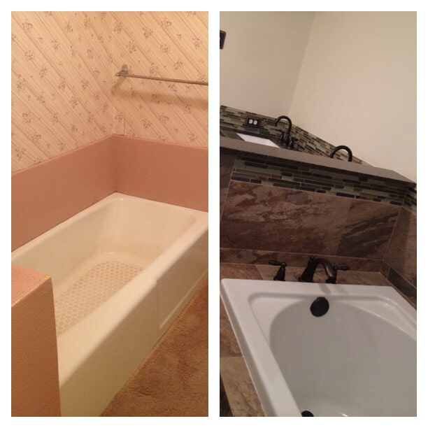 Before & after photos in Baton Rouge, LA from Marchand's Interior & Hardware