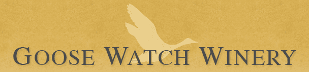 Goose Watch Wine Banner