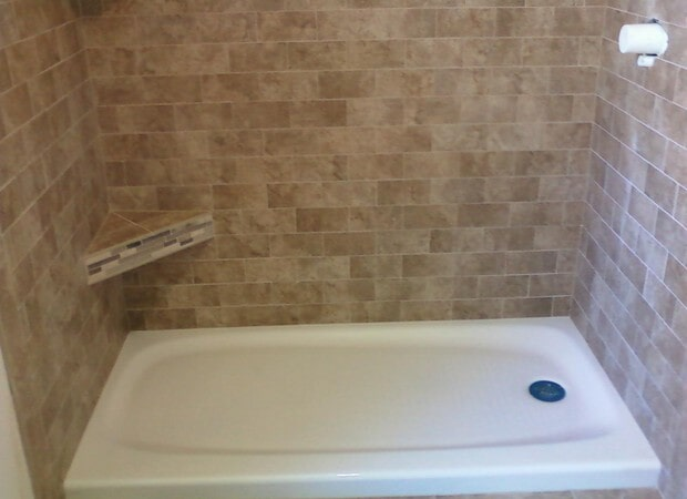 3X6 Tile With Tiled Shower Seat