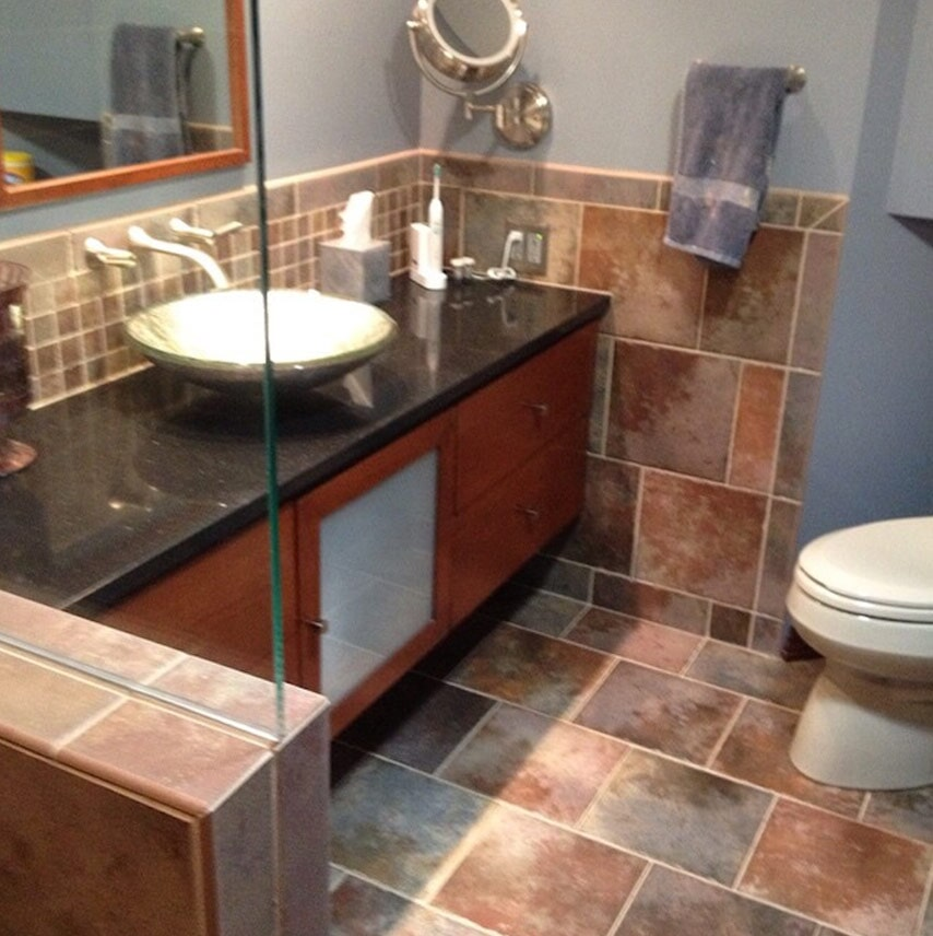 Custom bathrooms in Hershey, PA from Harrisburg Wall & Flooring