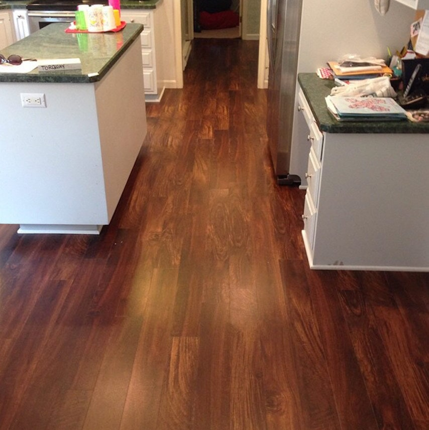 Kitchen floors in Camp Hill, PA from Harrisburg Wall & Flooring