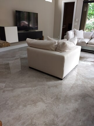Tile flooring installation from Capitol Carpet & Tile and Window Fashions in Wellington, FL