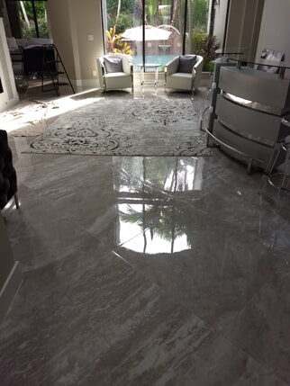 Tile flooring installation from Capitol Carpet & Tile and Window Fashions in Boynton Beach, FL