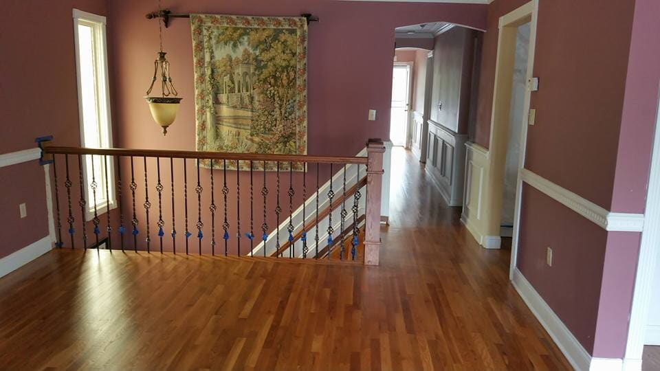 Hardwood flooring installation in Staten Island, NY from Buono's Flooring