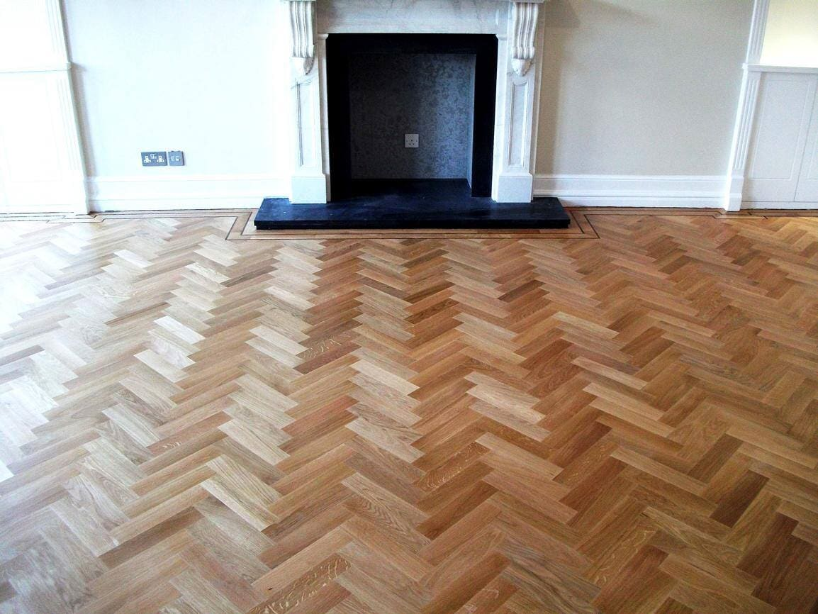 Herringbone hardwood floors in Manhattan, NY from Buono's Flooring Manhattan, NY from Buono's Flooring