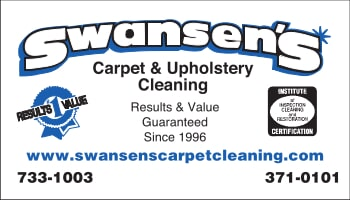 Swansen's Carpet & Upholstery Cleaning