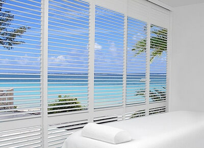 Plantation shutters in Estero, FL from Setterquist Flooring