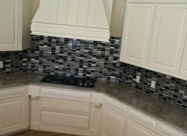 Custom backsplash in Bonita Springs, FL from Setterquist Flooring