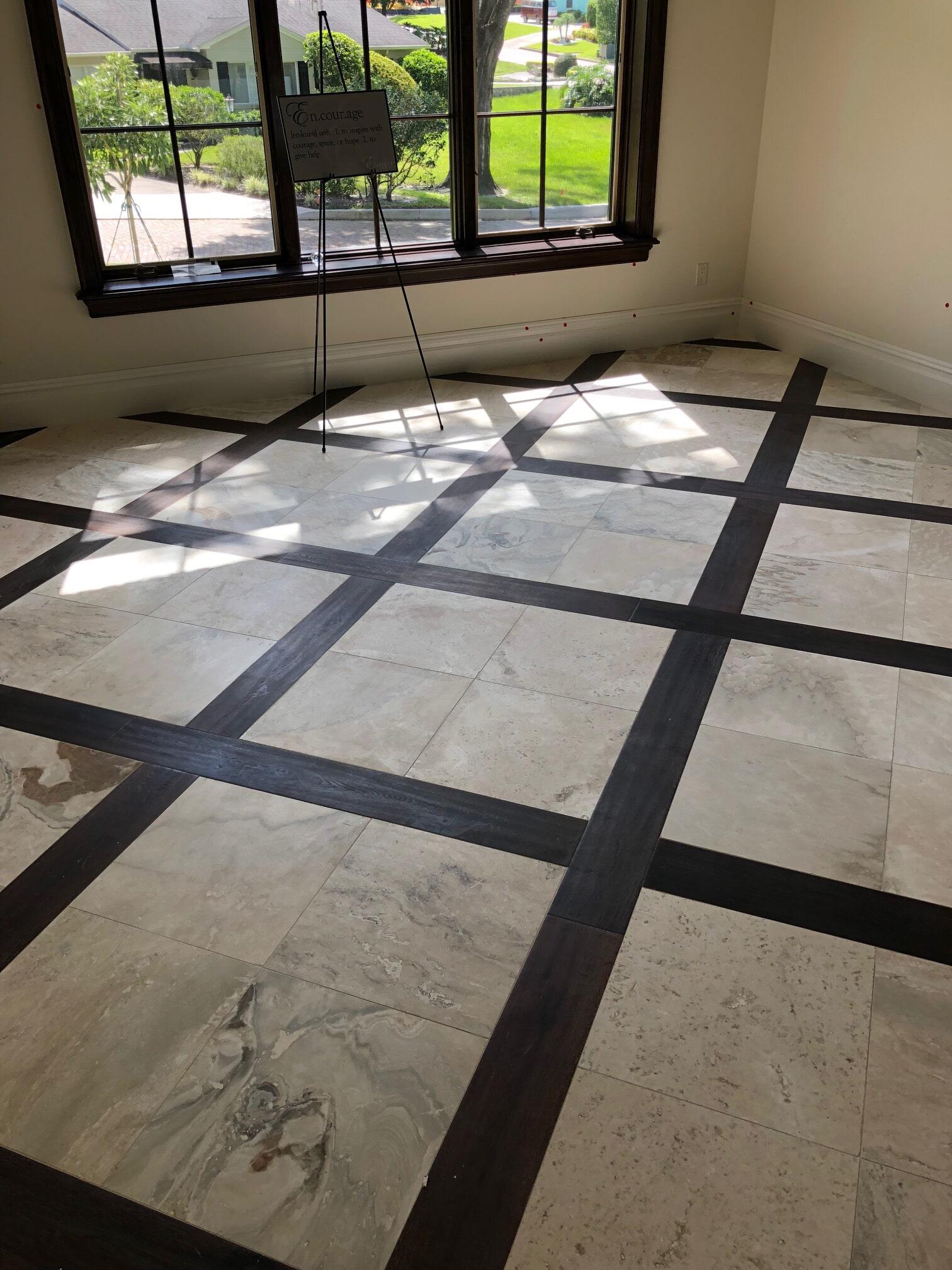 Tile flooring from The Flooring Center in Orlando, FL