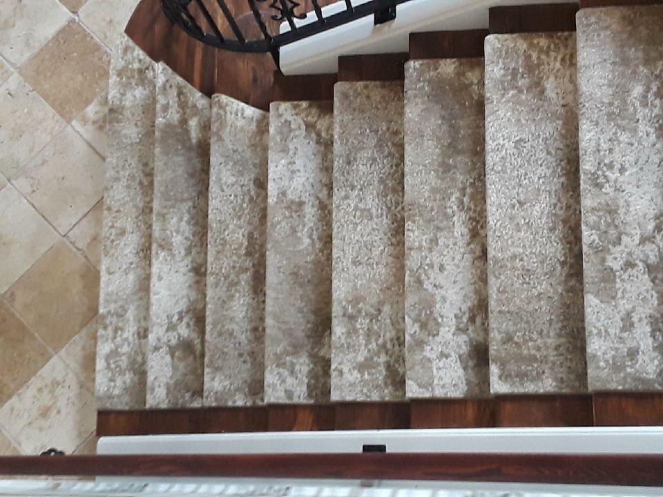 Stair runner from The Flooring Center in Heathrow, FL