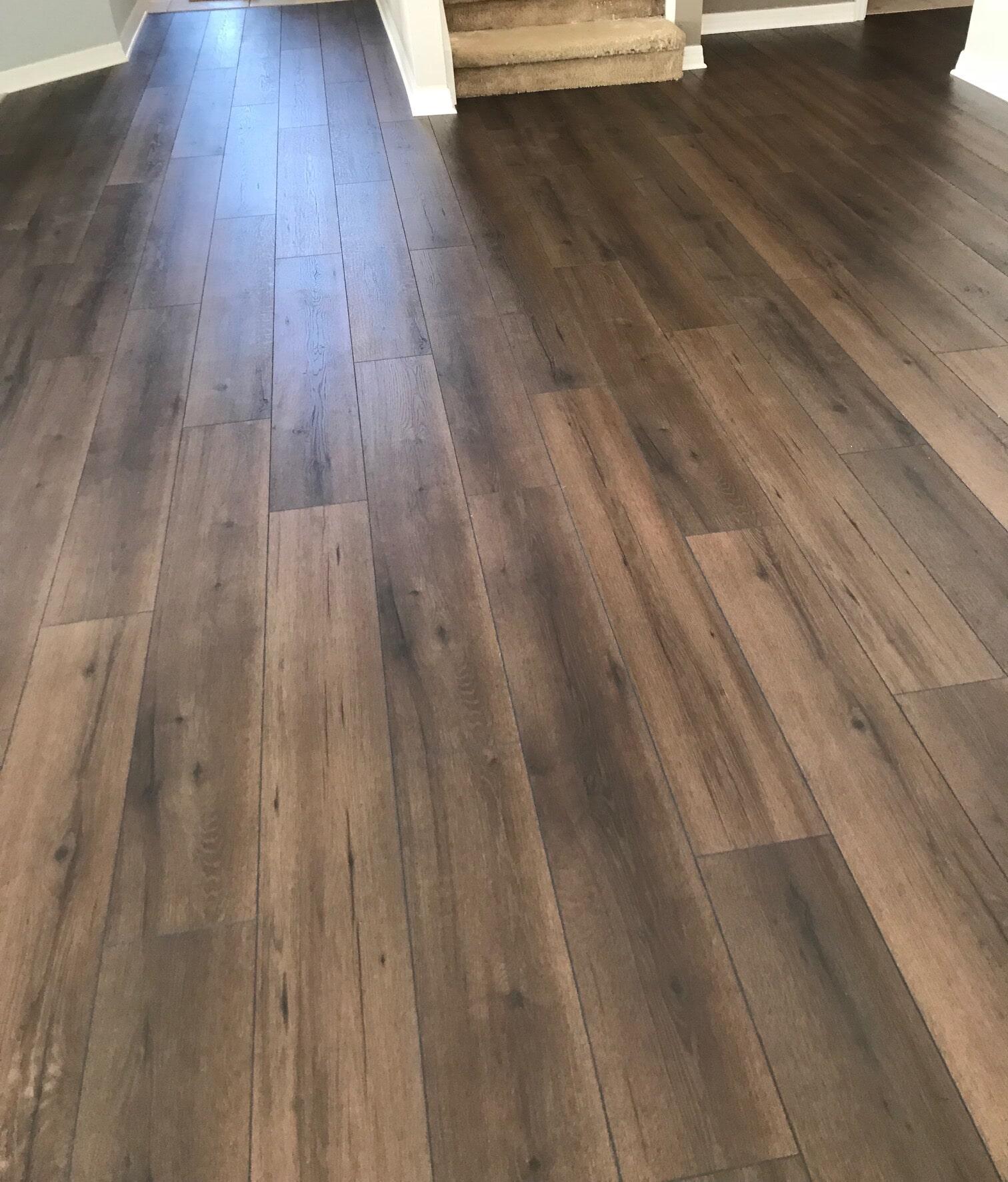 Hardwood flooring from The Flooring Center in Lake Mary, FL