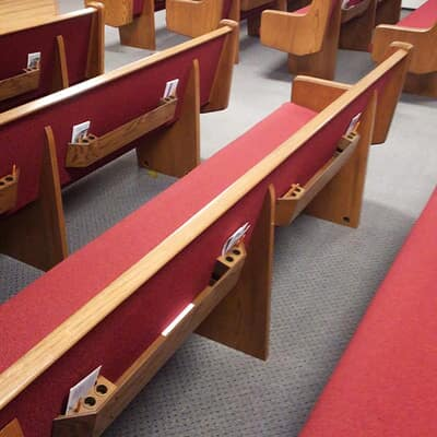 Carpet and laminate installed at Union Protestant Church of Herald Harbor in Crownsville