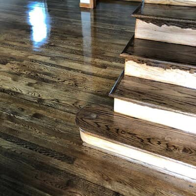 Hardwood refinishing in Glen Burnie, MD
