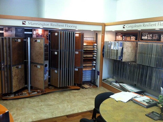 Flooring showroom near Norwich, CT from Valley Floor Covering