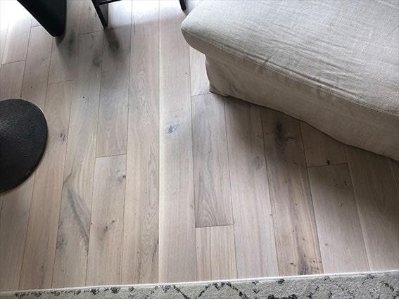 Hardwood flooring installation by Luxor Floors in San Mateo, CA