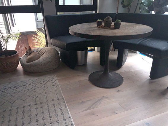 New hardwood from Luxor Floors in San Mateo, CA